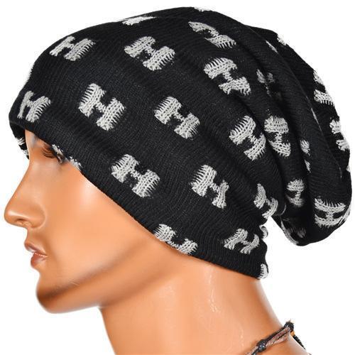 61621781beb52d Men Winter Slouchy Beanie Hat Baggy Kint Skull Cap Oversized Unisex (3  colors) B073