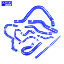 Silicone Coolant Radiator Hose Kit For Honda Civic CRX del sol 88-00 B16 B16A B16B EK3 10PCs/set