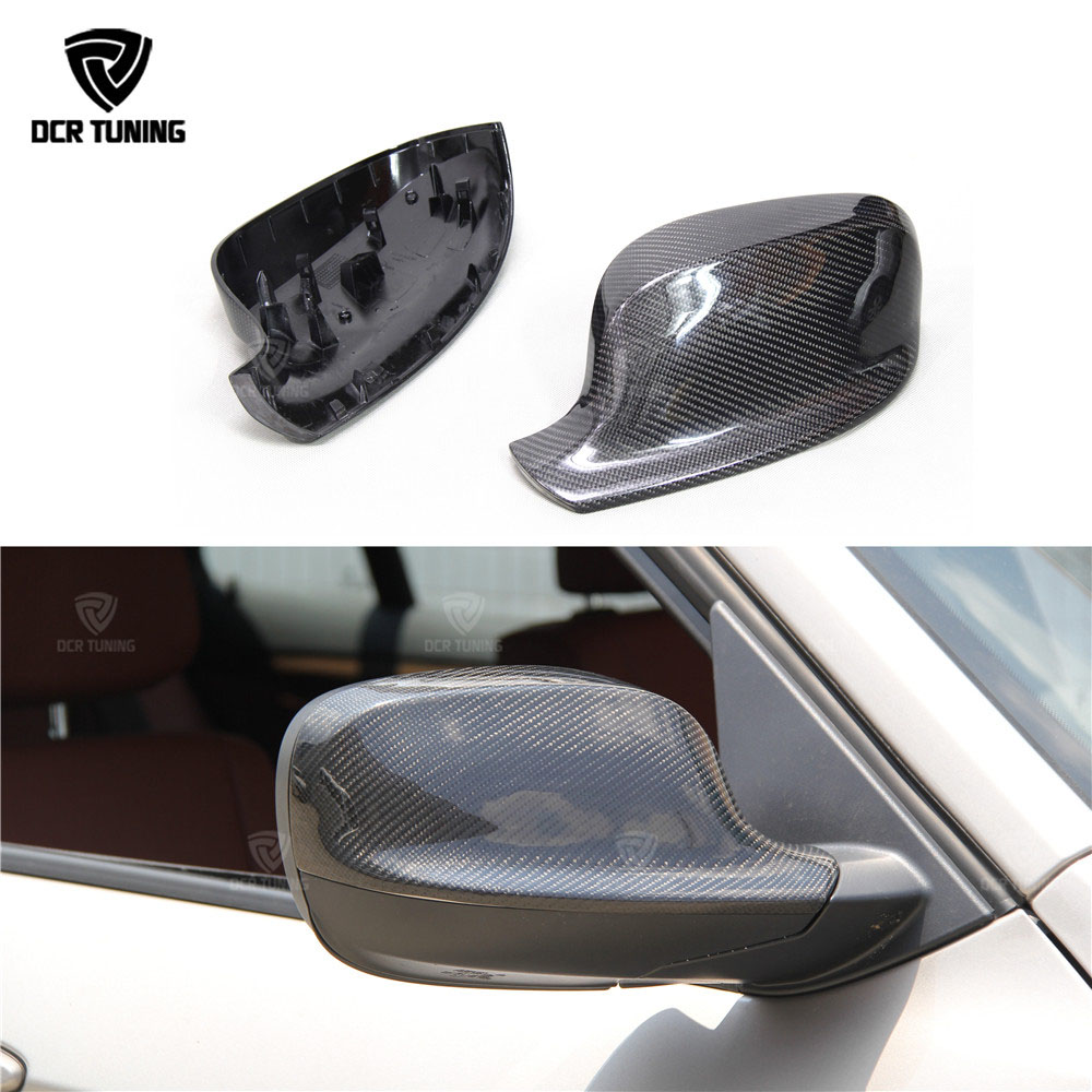 For BMW X Series X1 E84 X3 F25 Carbon Fiber Rear View Mirror Cover Replacement Style