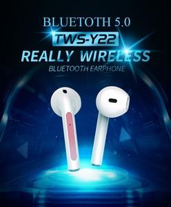 Image 2 - TWS 5.0 블루투스 이어폰 IPX5 방수 헤드셋 наушники беспроводные Nouveau 무선 헤드폰 블루투스 이어폰 V20