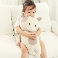 Big size Cow/rabbit/husky/bear plush toys baby kids toys for children kawaii soft stuffed dolls christmas gifts 55cm