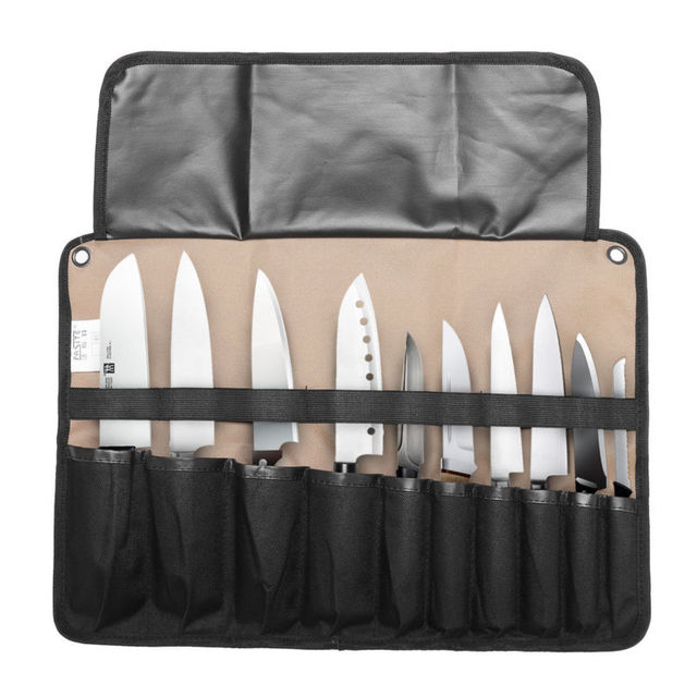 Chef Knife Bag Roll Carry Case Kitchen Portable Storage 10 21 Pockets