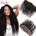Peerless Peruvian Water Wave Frontal Wet and Wavy 13 x 4 Ear to Ear Full Lace Front Closure 8A Bleached Knots Frontal DHL Free