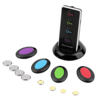 Remote Wireless LED Key Wallet Finder Receiver Lost Thing Alarm Locator WholesaleTech