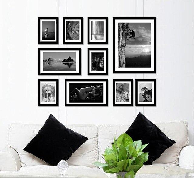 Frame Wall aliexpress : buy fashion 10 box combination photo frame photo