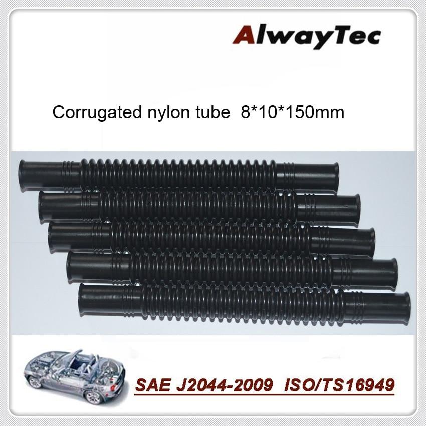 8 millimetri * 10mm * 150 millimetri 5pcs per lotto di carburante tubo corrugato per la linea del carburante della pompa del carburante di tracce