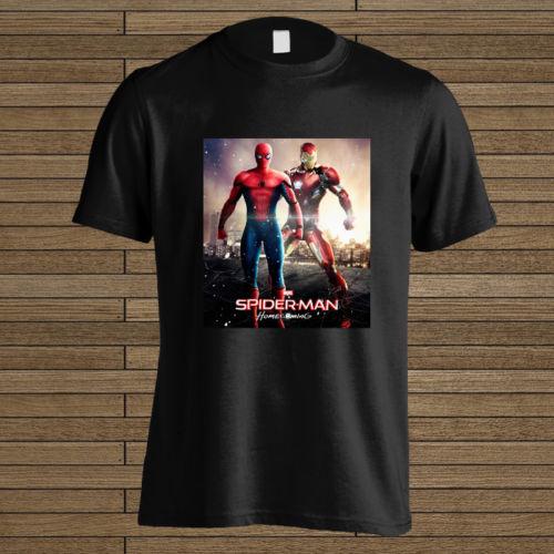 Gildan Hot Iron Man in Spiderman Homecoming 2017 New T-Shirt