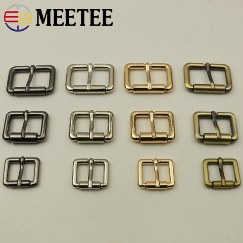 Arts,crafts & Sewing Meetee 5pcs 20-32mm Square Metal Buckle For Belt Backpack Strap Roller Pin Buckle Diy Leather Bag Hardware Accessories Bd307