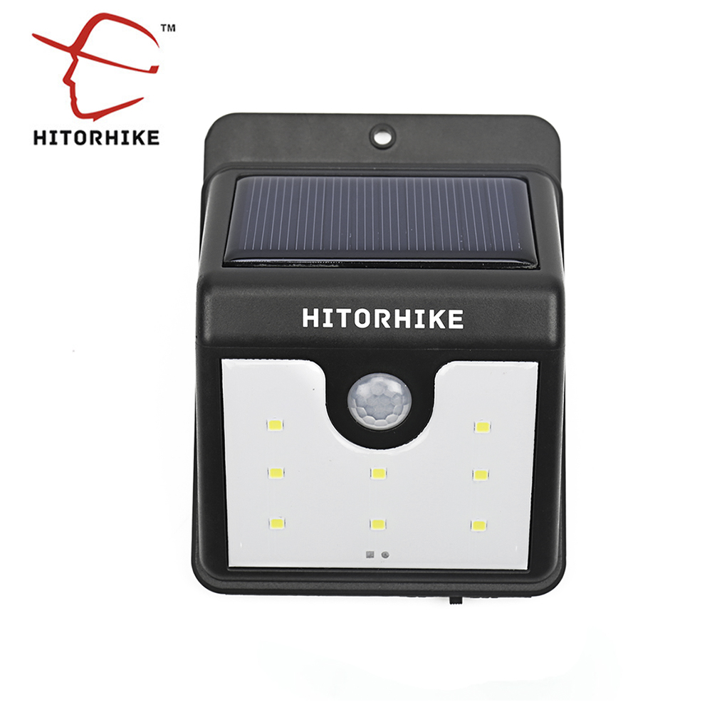 Motion-Actirated Solar Power LED Light 1
