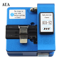 AUA S2 fiber cleaver indoor cable pigtail cutter cold / splice available