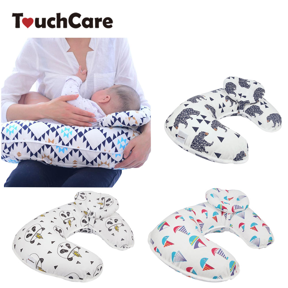 2Pcs/Set Baby Nursing Pillows Maternity Baby Breastfeeding Pillow Infant Cuddle U-Shaped Newborn Cotton Feeding Waist Cushion waist support baby nursing breastfeeding pillow soft baby learning sit pillow multi function baby pillows almofada infantil