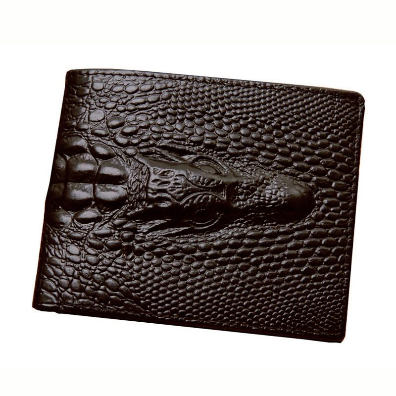 JINBAOLAI Fashion New Alligator Grain Men Portfolios Pursuit Card Holder Driving License Wallet Wallet