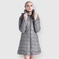 JOOBOX 2018 Autumn Winter Jacket Women Long Sleeve Solid Silver Female Warm Coat and Jackets Big Size Shiny Nylon Women's Parkas