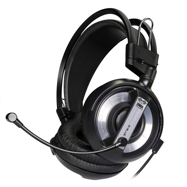 Оригинал Кобра E-3lue E-голубой EHH007 Limited Edition Gaming Headset Наушники Компьютерные Наушники с Микрофоном для PC Gamer