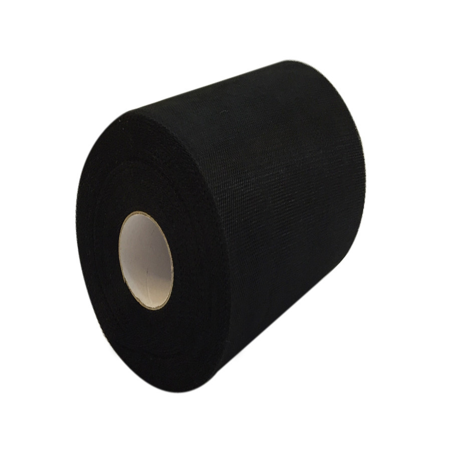 100 Yards Tulle Wedding Backdrop Wedding Decoration 15cm: Black Color Tulle Roll 6 Inch 100Yards Roll Fabric Spool