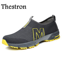 Thestron 2017 New Cool Man Shoes For Run Breathable Athletic Sport Shoes Men Summer Barefoot Running