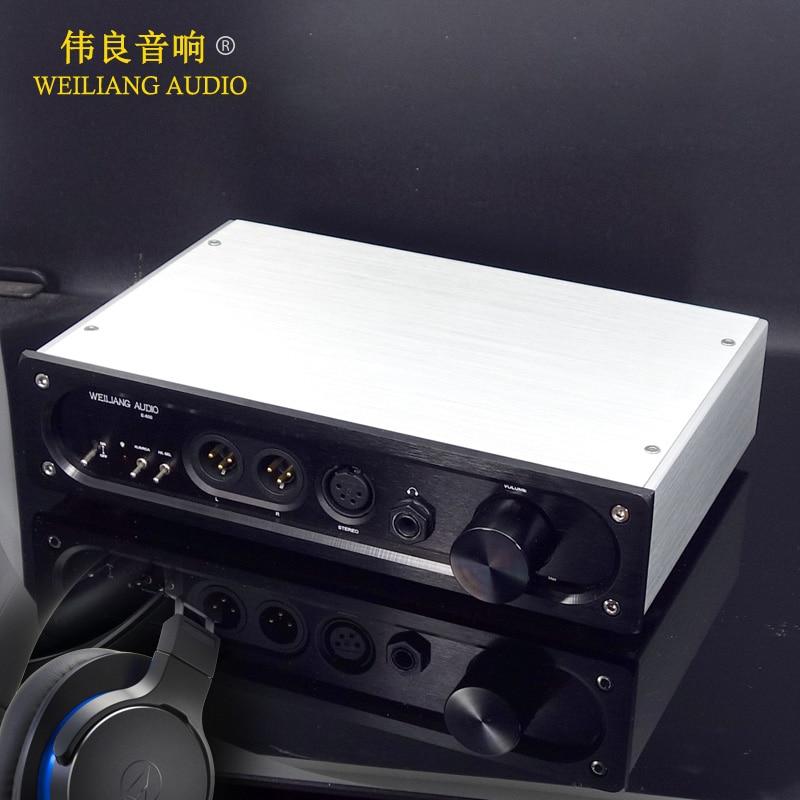 Headphone Amplifier Hospitable E600 Full Balanced Input Full Balanced Output Tpa6120 Ultra Low Noise Headphone Amplifier