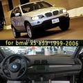 Автомобильные аксессуары для стайлинга приборной панели  чехол для BMW x5 E53 1999 2005 2006 2004 2003 2002 2001 2000