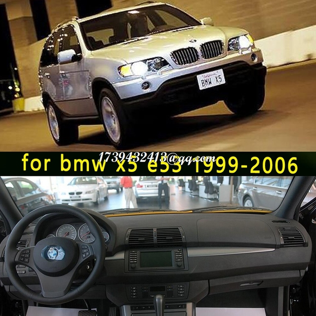 car dashmats car styling accessories dashboard cover for BMW x5 E53 ...