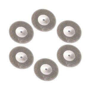 Image 3 - ใหม่ 60mm ตัดแผ่นเพชรสำหรับเจาะมินิ Dremel เครื่องมือเพชรแผ่นเหล็กเครื่องมือโรตารี่ใบเลื่อยวงเดือนขัดเลื่อยใบมีด