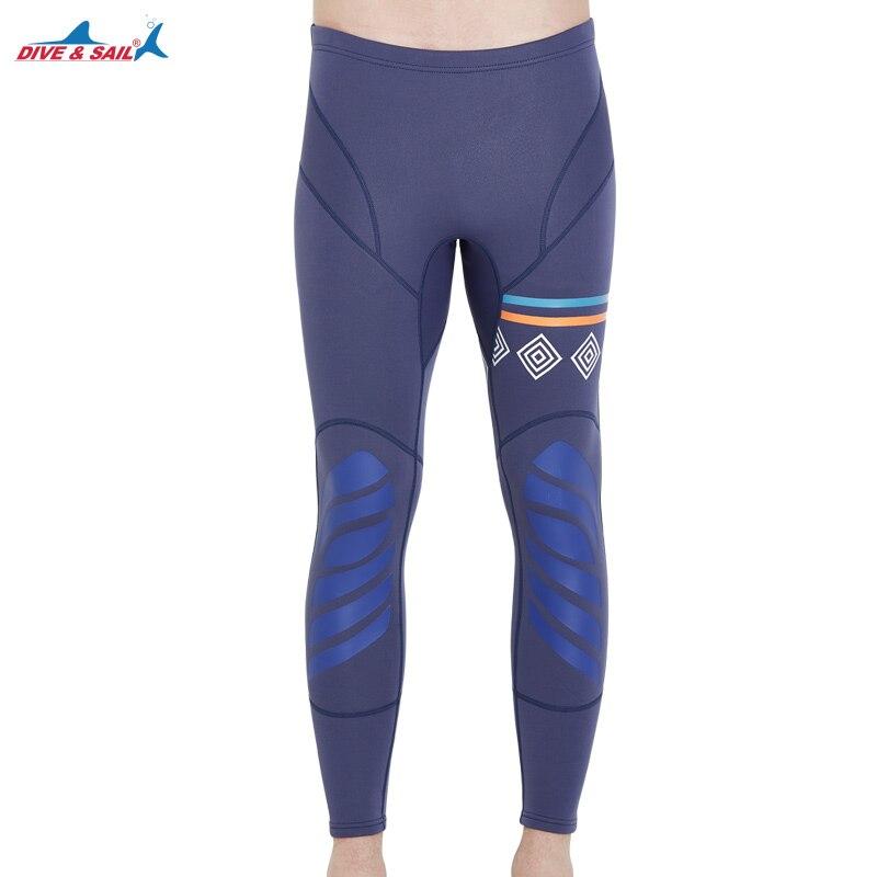 Mens Wetsuit Pants Bottom 1.5mm Neoprene Wet Suit Leggings Water Sport Bottom for Snorkeling Fish Diving Surfing Canoeing