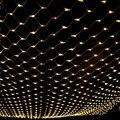 3 m * 2 m 204 LED Net Fada Luz Cordas Natal Festa de Casamento de Fadas Luz Da Corda com 8 Controlador de função Plug EUA