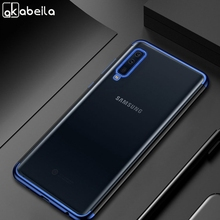 Silicone Plated Case For Samsung Galaxy J7 Prime Cases A5 2017 A7 2018 A6 A8 Plus J6 J4 S8 S9 S10 Lite J5 2016 Covers Coque
