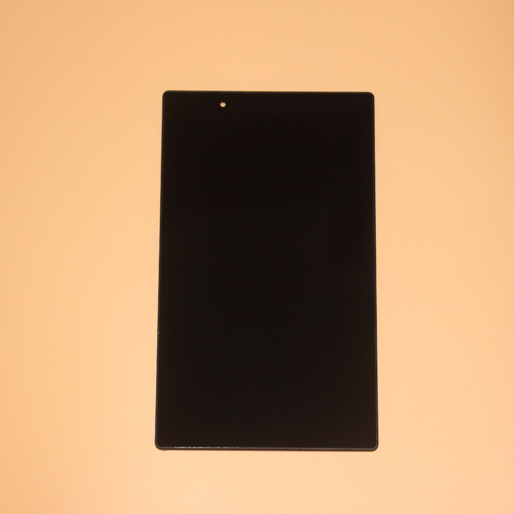 Full Touch Screen Digitizer Glass LCD Display Assembly With Frame For Lenovo TAB 4 8504 TB-8504X TB-8504F Prats Black цена