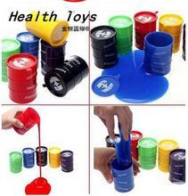 New Blocks Barrel O Slime Large Joke Gag Prank Gift Toy Crazy Trick Party Supply 1pc