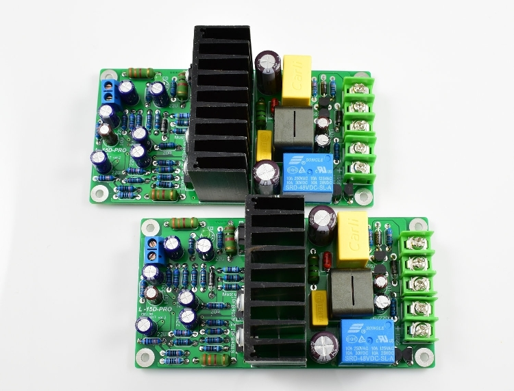 Nouveautés Double canal L15D-PRO Classe D IRS2092 IRFB4019 Stero amplificateur de Puissance Kit DIY (2 conseils) 300 W Audio amplificateurs