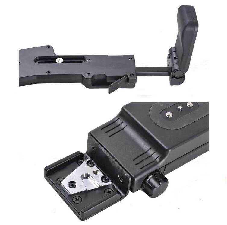Negro Soporte de Hombro Profesional VCT-SP2BP Plegable PMW-EX1R Soporte de Hombro PMW-EX3 para Sony