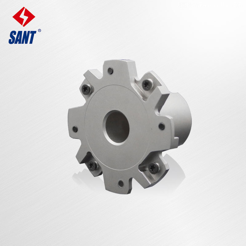 Indexable milling cutter Match insert XSEQ12T4 Side and face milling cutter disc PT02