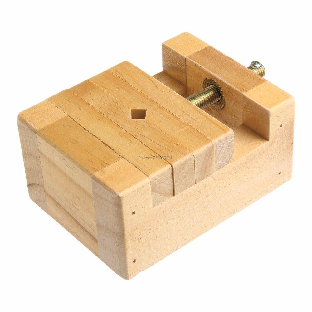 Китайская традиционная печать камень кровать тяга sculptute деревянный исправить форму Инструменты jun13