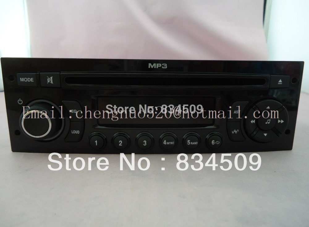 Original Hsar RD9 radio CD player tuner for Peuguot 207 307 308 car radio MP3