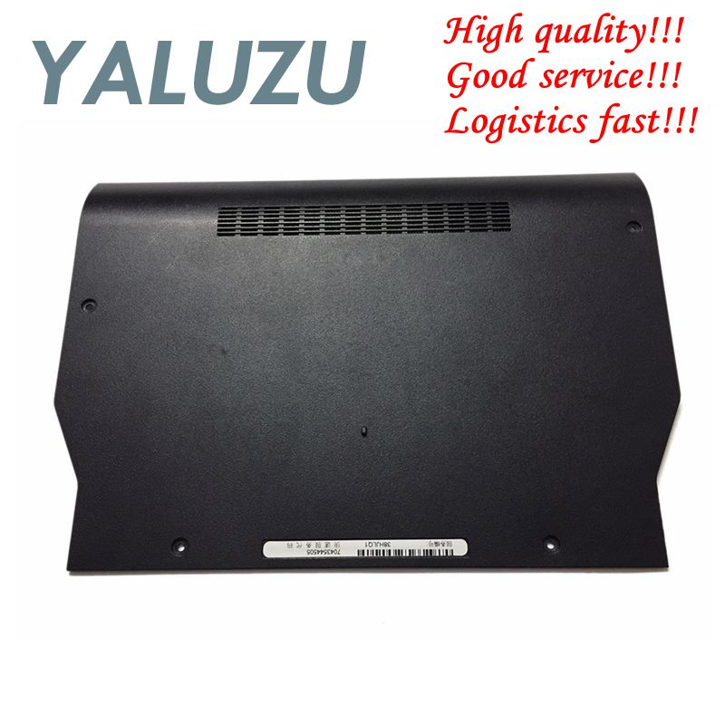YALUZU NEW Bottom Case Access Panel Door Cover 7HXMY For Dell Latitude E5420 07HXMY 7HXMY Notebook/Laptop Black
