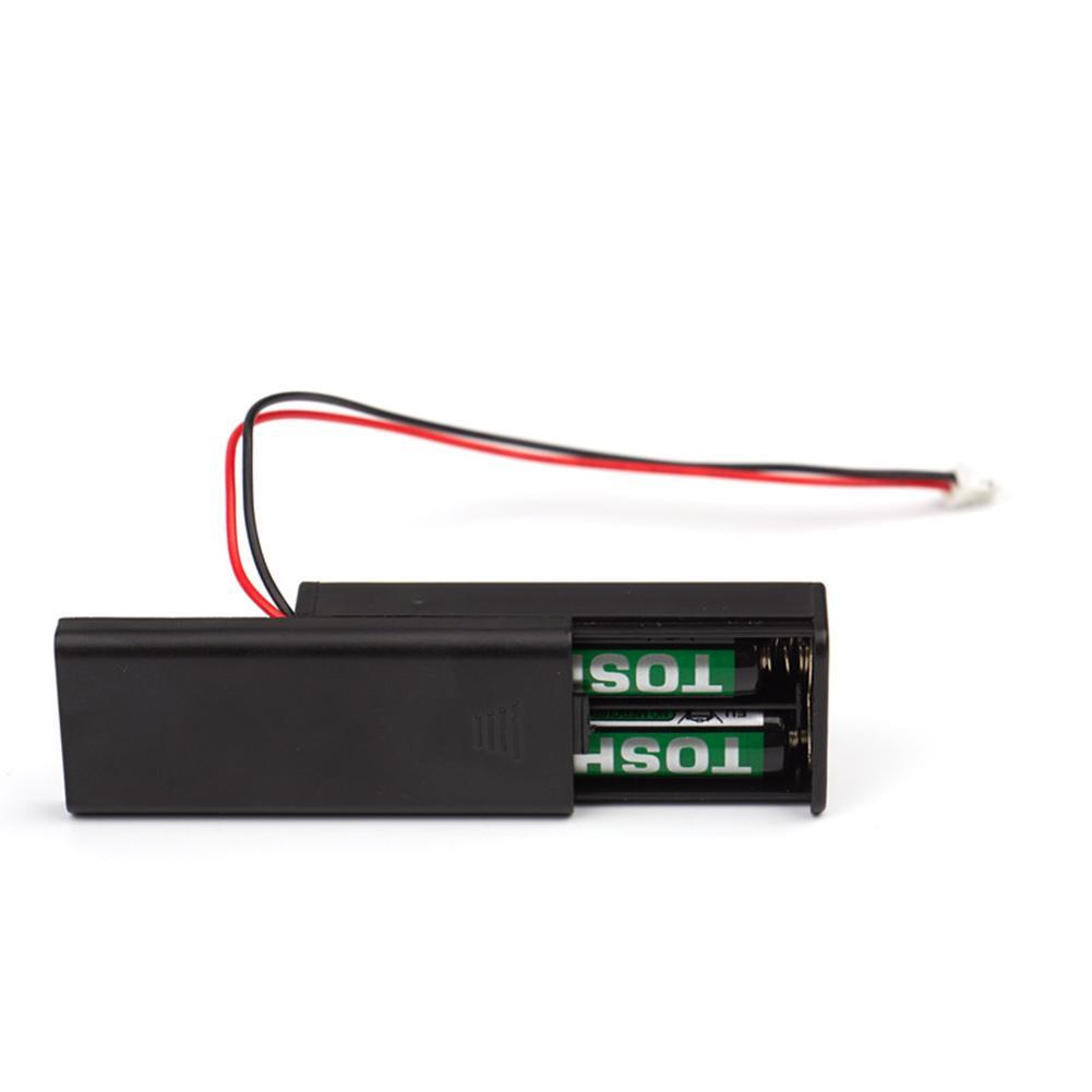 For Micro:bit Battery Holder Case Cover Shell For 2pcs AAA Batteries 3V PH2.0 For Microbit Development Kids Educational Tool