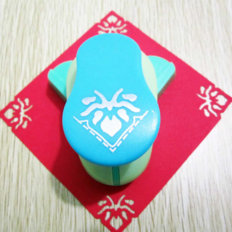 Leaf มุม Punch Diy Craft Punch Hole Puncher กระดาษตัดขนาดใหญ่ Embossing Device Punch Cortador Papel Scrapbooking