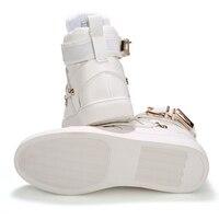 Wholesale Famous Brand Men High Top Casual Shoes Lace Up Platform Shoes Sapatos Tenis Masculino Fashion
