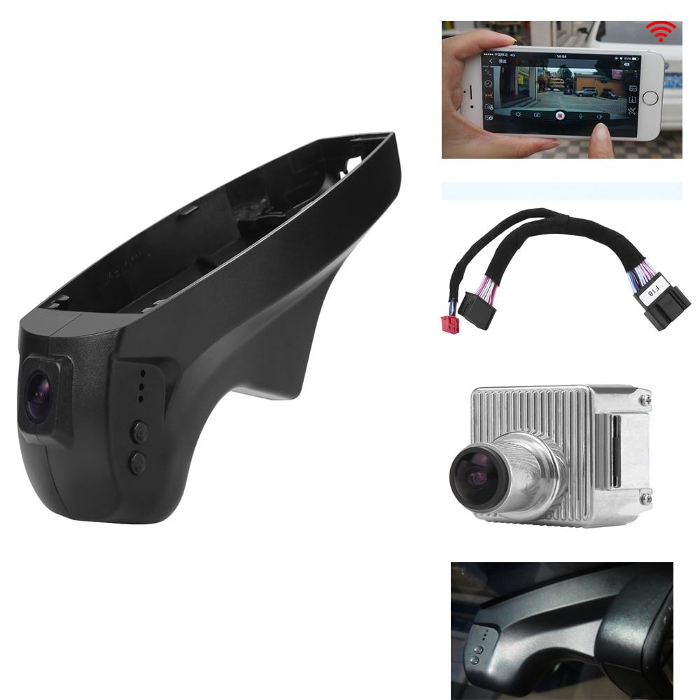 PLUSOBD Hidden HD Car DVR Special For BMW E90 E91 E87 E84 X1 Low Model With Black Dash Cam Camera With Aluminium Alloy+OBDII plusobd wifi hd dvr car rearview camera with obd2 hidden video registrator for bmw x1 e90 e91 e84 e87 1080p night vision nt96655