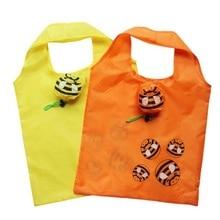1Pcs Smart Eco-friendly Bee Shopping Bag Convenience Foldable Tote Mixed Color Reusable