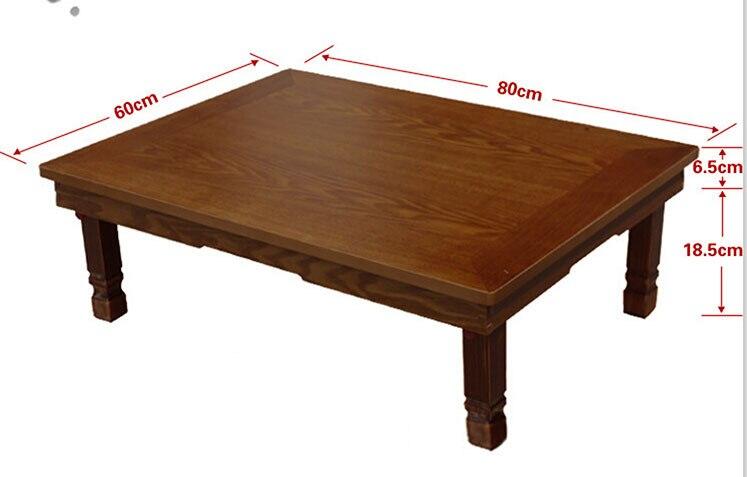 Koreanische RectangleTable 8060 Cm Falten Beine Wohnmobel Wohnzimmer Antiken Tisch Fur Esszimmer Traditionellen Klapptisch In