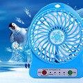 Refrigerador de Aire de Verano USB 18650 Alimentado Por Batería Recargable portátil Mini Ventilador de Escritorio