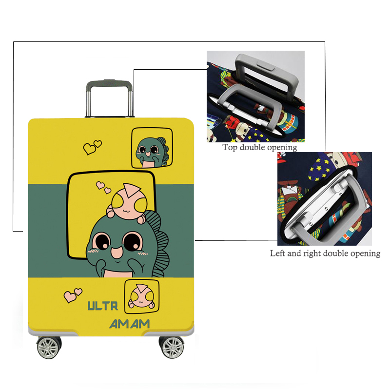 Dinosaurus Luggage Protective Cover 2