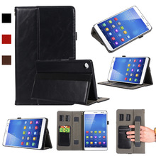 For Huawei MediaPad M5 8.4 inch SHT-AL09 SHT-W09 Case With Hand Strap A1670 A1671 Auto Wake Tablet Cover For mediapad m5 8.4 pu leather case for huawei mediapad m5 8 4 inch sht al09 sht w09 tablet cover trifold stand cover auto wake sleep anti dust
