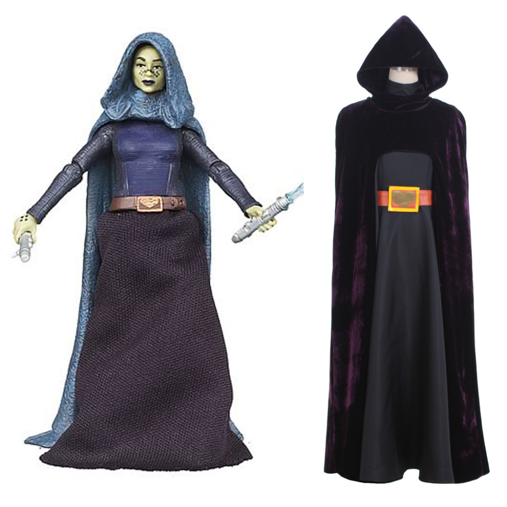 Star Wars Cosplay Star Wars Barriss Offee Cosplay Costume Jedi Knight Costume Cosplay Halloween Carnival Costume For Women