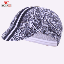 WOSAWE Helmet inside Cap Cycling Caps Bike Headband PRO TEAM Bicycle Wear Breathable Ciclismo Anti-UV Hat MTB
