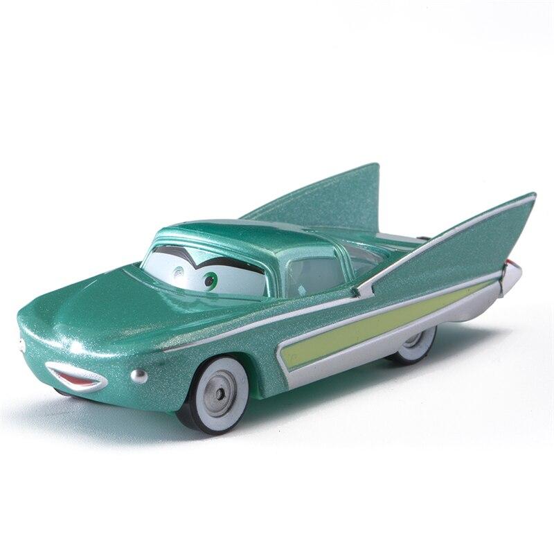 Disney Pixar Cars 3 Flo Cruz Ramirez Lightning McQueen Mater Jackson Storm 1:55 Diecast Metal Alloy Model Toy Car Kid Gift Boy