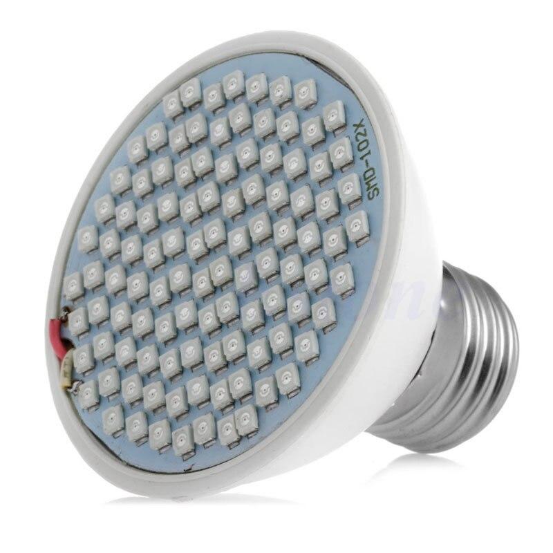 60/106LED Lamp Bulb Flower Veg Indoor Hydroponic Full Spectrum E27 Plant Grow Light 12W/18W