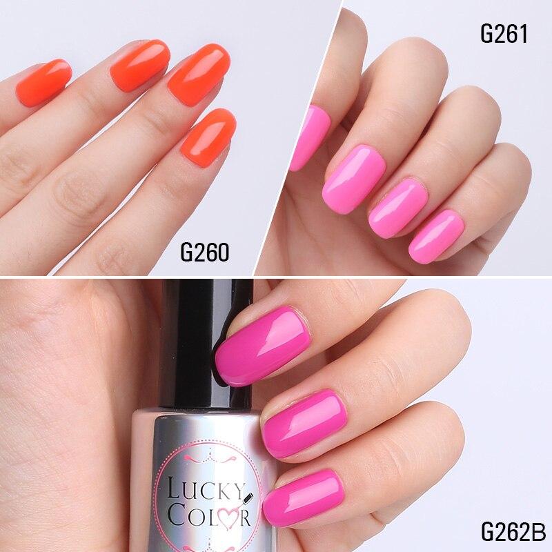 Magenta Red Gel Lacquer For Nail Art Orange Color Soak Off Gel ...