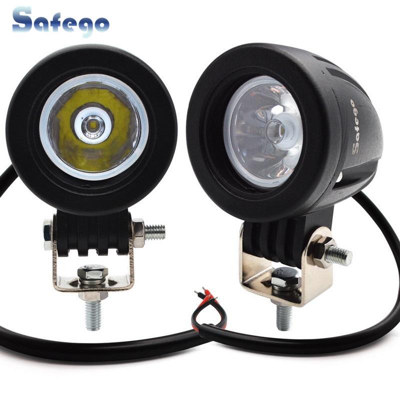 2pcs 10W led lámpara de trabajo luz de trabajo off road 10W led luz - Luces del coche